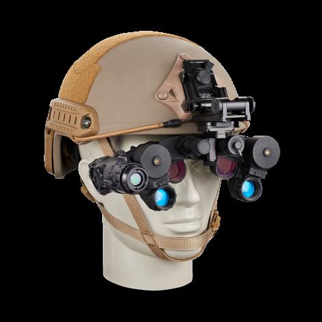 Dispositif de vision nocturne utilisé en mains libres