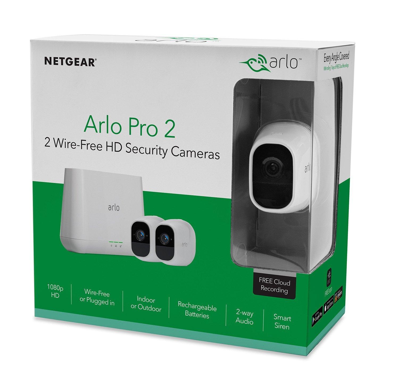 Si vous possédez déja une Arlo Pro ou que vous cherchez une caméra réellement sans fil et performante, lar Arlo Pro 2 est faite pour vous.