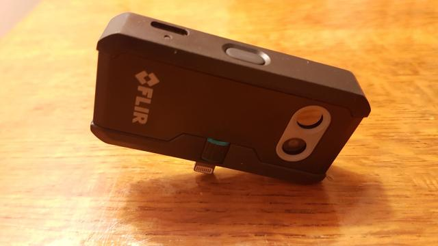 camera thermique flir one pro, le test par vision nocturne magazine