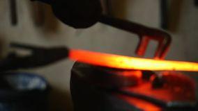 metal soumis à une chaleur extrème