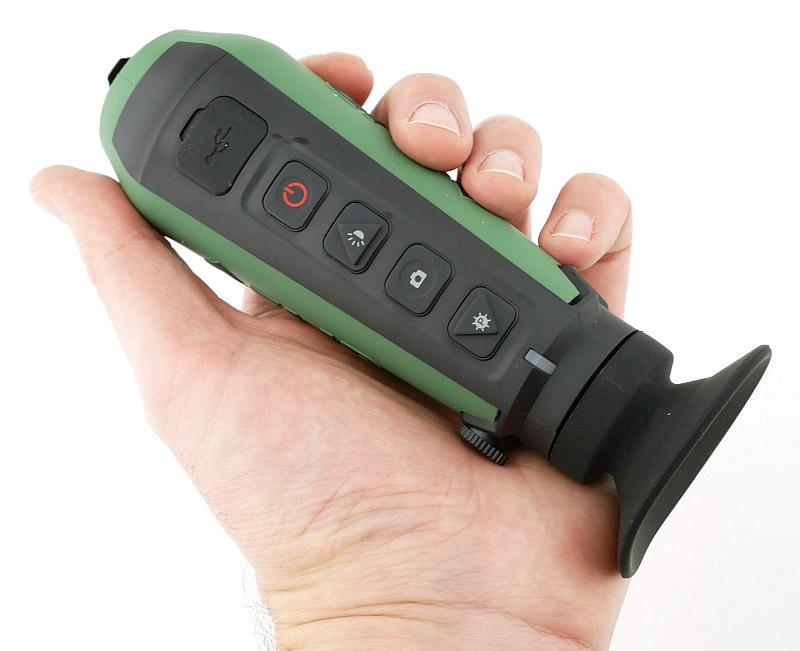 monoculaire de vision thermique ultra compadct flir scout tk