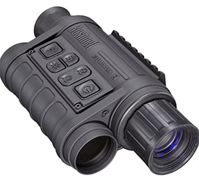 image illustrant l'usage d'un capteur cmos par une vision nocturne numérique