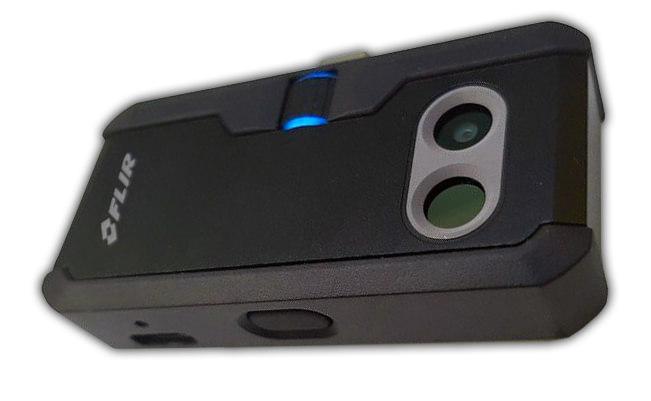 photo de la camera thermique pour smartphone flir one pro