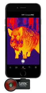 camera thermique seek thermal compact pro pour smartphone