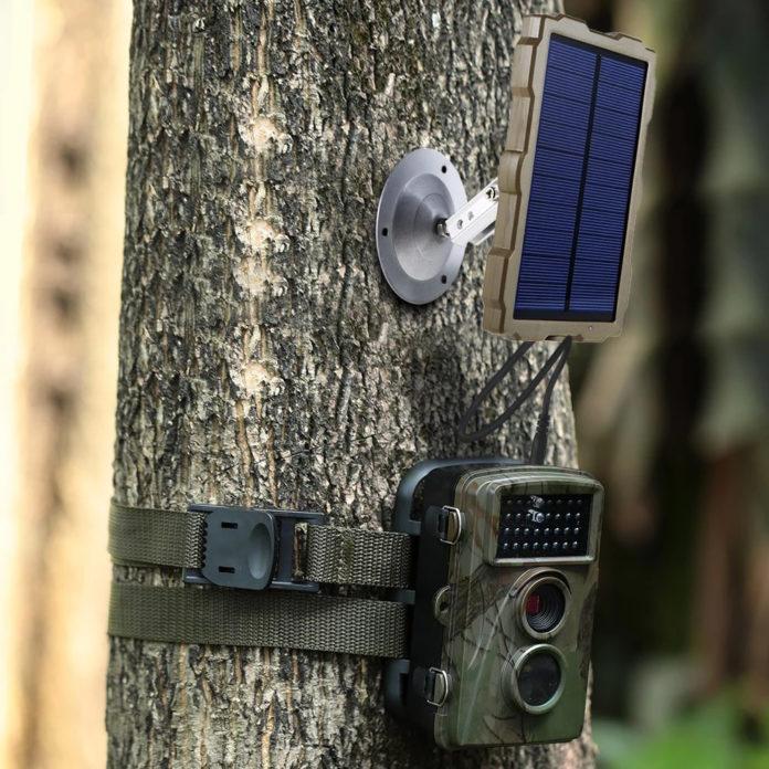 photo montrant une camera de chasse