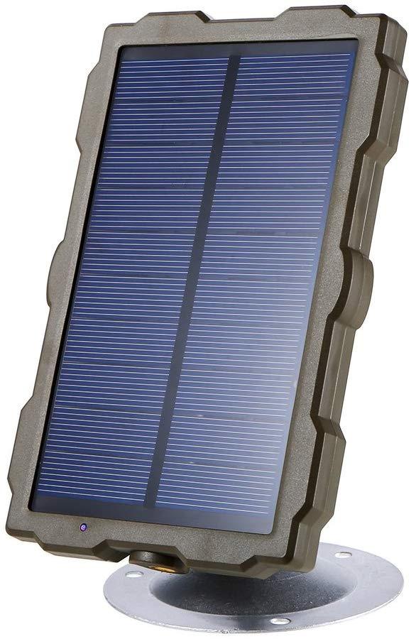photo d'un panneau solaire pour une caméra de chasse
